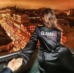 """Congrats to the coolest couple Nataly and Murad Osmann for winning """"Couple of the Year"""" Glamour Russia last night!! Nataly was wearing the Luna Orbit ring // Cristina Ramella Jewelry"""