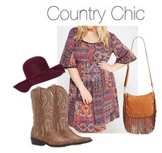 Country Chic by smilesmakesunshine on Polyvore featuring polyvore, fashion, style, Wet Seal, Street Level, Old Navy and country