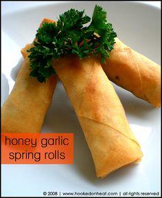 ... Spring rolls on Pinterest | Spring Rolls, Chicken Spring Rolls and Egg