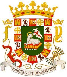 El escudo de la gran isla Puerto Rico!  Mi isla del encanto