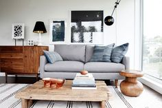 See more images from the seattle condo one designer styled--for himself! on domino.com