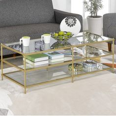 Shop for Simplicity 3 Layers Coffee Table. Get free shipping at Overstock.com - Your Online Furniture Outlet Store! Get 5% in rewards with Club O! - 18632604