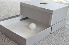 DIY Object Permanence Box (using an empty shoebox)