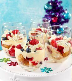Cadbury Cinnamon Doughnut Trifles Recipe - super decadent and deliciously naughty but hey! It's Christmas!!