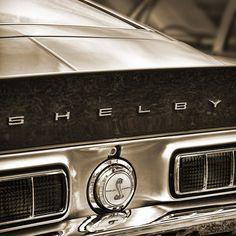 Shelby Cobra Sepia Photograph by Gordon Dean II