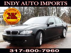 #SpecialOffer #FreeGas | $16,500 | 2007 #BMW #7-Series 750i - for Sale in Carmel IN 46032 #IndyAutoImports