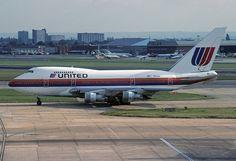 N144UA Boeing 747SP-21 United Airlines