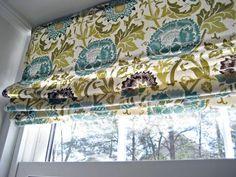 DIY No Sew Roman Shade from Mini Blinds DIY Roman Shades DIY Curtains DIY Home Římské rolety !