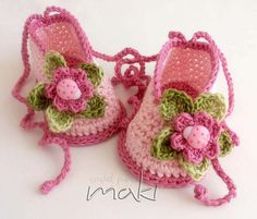 MIA crochet pattern baby ballerina Perfect for di MakiCrochet