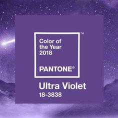 O ano ainda não acabou, mas já sabemos qual será a cor de 2018 segundo a Pantone  #ultraviolet #pantone #2018
