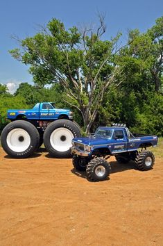 The Bigfoot team has been restoring the original Bigfoot monster truck over the last few years ad have done an incredible job. These photos are from the Monster Mayhem website, but there is a lot o…