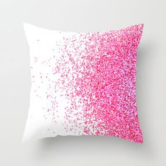 glitter pillow, room decor
