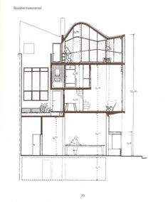 Drafting Drawing, Architecture Drawings, Detailed Drawings, Le Corbusier, Designs To Draw, Floor Plans, How To Plan, Sketches, History