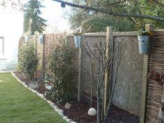 cacher un mur en parpaing variegata paysage jardin pinterest murs en parpaings parpaing. Black Bedroom Furniture Sets. Home Design Ideas