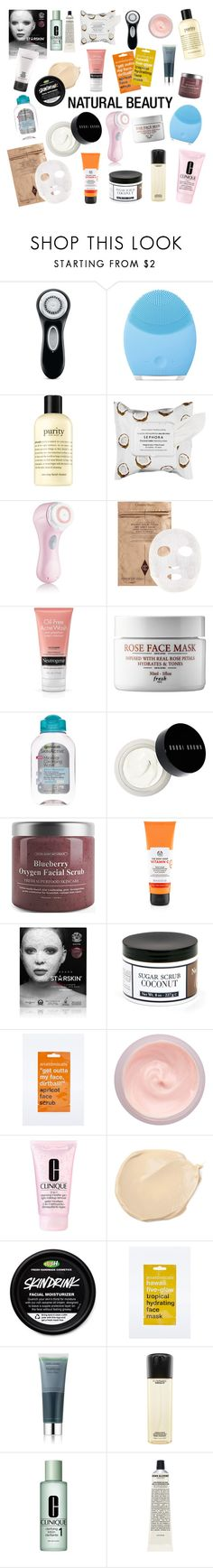 """""""Face Routine"""" by cybertrasher ❤ liked on Polyvore featuring beauty, Clarisonic, FOREO, philosophy, Sephora Collection, Bobbi Brown Cosmetics, Starskin, Archipelago Botanicals, Anatomicals and By Terry"""