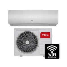 TCL 18000 BTU WIFI Smart A++ easy-fit DC Inverter Wall Split Air Conditioner with 5 meters pipe kit and 5 years warranty Scotland Castles, Heat Exchanger, Smart Home, Retail Packaging, Main Colors, Wall Mount, Wifi, Conditioner, Home And Garden