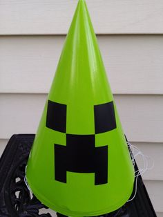 8 Minecraft party hats $5.60
