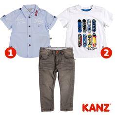 Kanz'ın 'Planet Skate' koleksiyonundan oğlunuza seçtiğimiz bu pantolonu siz hangi ürünle tamamlardınız? :)
