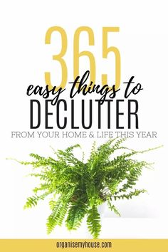 This is an amazing list of 365 things to declutter starting right now (one a day for a year!), from your home and life. There are 12 printable lists to use, one per month - and you'll have got rid of the clutter before you know it. Enjoy a tidy and clutter free home starting today. Declutter Your Home, Organize Your Life, Organizing Your Home, Journal Writing Prompts, Clean Sweep, Clutter Free Home, Paper Clutter, Bullet Journal Ideas Pages, Getting Organized