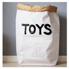 Papiersack Toys Papiersack Toys zur Aufbewahrung im Kinderzimmer