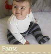 Pantalones de lana orgánica para niñ@s