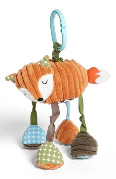 Cute little fox stroller toy