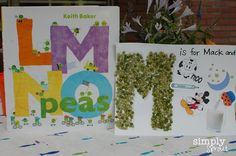 Lil Sprouts Book Club: LMNO Peas ~ Simply Sprout