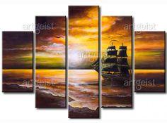 Cuadro Crucero solitario #cuadro #cuadros #fotos sobre lienzo #fotos #sobre #lienzo #paisajes