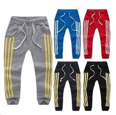 Boys Harem Pants, Girls Joggers, Toddler Pants, Kids Pants, Toddler Boys, Kids Boys, Sports Trousers, Sport Pants, Baby Boy Outfits