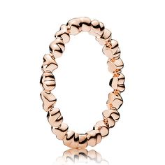 """This is actually perfect. Ugh. CPANDORA Rose™ Forever Love""""  - finally rose gold ❤❤❤"""