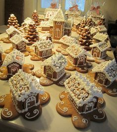 Ginger Bread Houses.