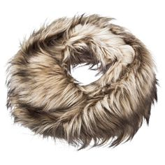 Mossimo® Fur Scarf - Brown