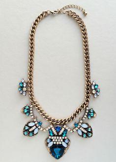 Sparkling Dervish Statement Necklace