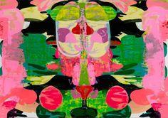Kerry James Marshall, Untitled (Blot), 2015. Acrylic on PVC panel, 84 x 120 inches (213.4 x 304.8 cm)