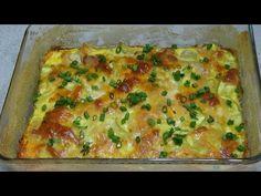 Romanian Food, Cooking Recipes, Healthy Recipes, Lasagna, Food Videos, Quiche, Broccoli, Deserts, Veggies