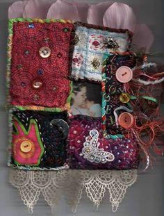 fabric pillow journal. :D