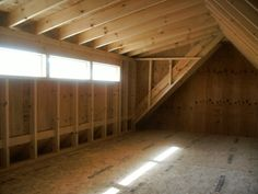 Interested in getting a shed for your home or property? Hometown Structures has over a decade of experience in building quality sheds. Swiss Chalet, Small Master Bedroom, Roof Lines, Garage Apartments, House Renovations, Loft Spaces, Built In Storage, New England, Shed