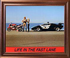 "Lamborghini Car ""Life in the Fast Lane"" Funny Motorcycle ... https://www.amazon.com/dp/B01JG90BF4/ref=cm_sw_r_pi_dp_x_lqMuyb6BKZBAX"