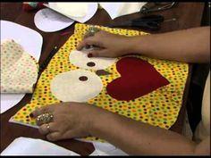 Mulher.com 30/11/2012 Marlei Fosco - Jogo americano de coruja - YouTube