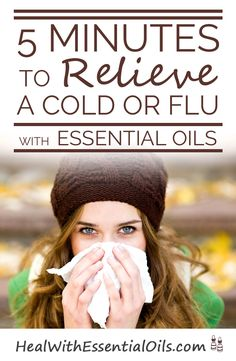 5 Minutes to Relieve a Cold or Flu With Essential Oils. Its Cold and flue season better give this a read. Natural Cures, Natural Healing, Natural Oils, Buy Essential Oils, Essential Oil Blends, Young Living Oils, Young Living Essential Oils, Alternative Health, Health And Beauty Tips