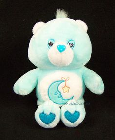 CARE BEARS Plush TALKING BABY Nursery Rhymes 2004 Hey Diddle Diddle Lovey