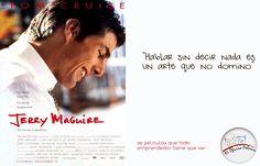"""""""Hablar sin decir nada es un arte que no domino""""  - Jerry Maguire"""