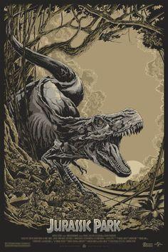"""Ken Taylor - """"Jurassic Park"""" Variant - 2013"""