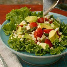 Lettuce taco cup #mossmountainfarm #Recipes #pallensharethebounty #gardens