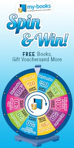 Spin and #Win Free Books, Gift #Vouchers and More!