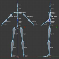 Defining the Target Rig Manually Character Rigging, 3d Model Character, Game Character Design, Character Design Inspiration, Blender Models, Blender 3d, Animation Reference, Anatomy Reference, Blender Character Modeling
