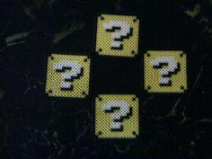 Super Mario Question Box Coaster Set Of 4 by ShartoranJange