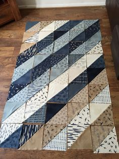 Work in Progress quilt Hearty Good Wishes - Janet Clare (Emma L Thomsen)