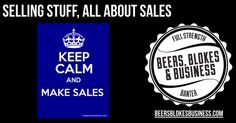 This week we chat with about the dirty word in business... SALES.