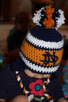 Notre Dame Hat for Baby